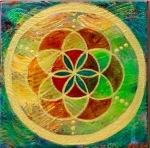 """Flower of Life 4"" 6 x 6"