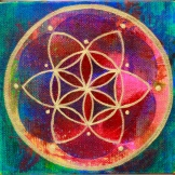 """Flower of Life  7"" 6 x 6"