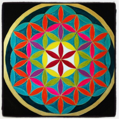 Flower of Life 20 x 20 Sold